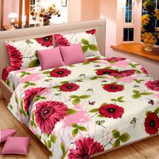 cortina cotton set of 2 double bedsheet with 4 pillow cover cortina cotton set of 2 double bedsheet with 4 pillow cover multicolor
