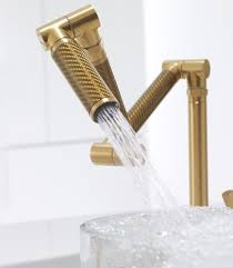 kohler brass kitchen faucets kohler karbon kitchen faucet in 4 new colors