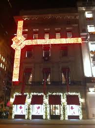 Christmas Window Decorations Manhattan by The Christmas Light And Window Displays In Manhattan Sojourner U0027s