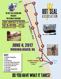 Map Of Virginia Beach Monster Mash Udt Seal Association
