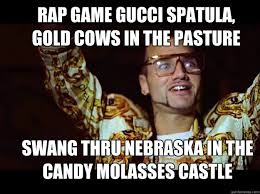 Funny Rap Memes - pull up at the club in a helicopter riff raff rap game phenomenon