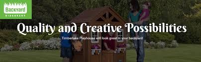 amazon com backyard discovery timberlake all cedar wood playhouse