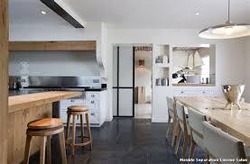 aménagement cuisine salle à manger idée aménagement cuisine inspirant separation cuisine salle a manger