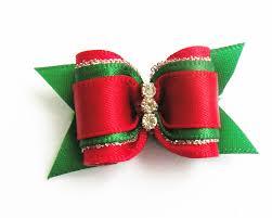 christmas accessories 100pc lot christmas dog bows ribbon pet hair bows dog grooming
