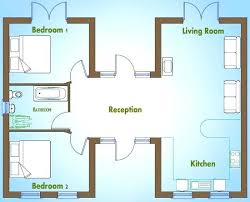 floor plan for two bedroom house 2 bedroom house design source a simple house plan with 2 bedrooms