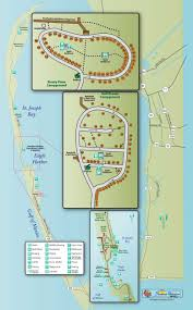 Map Of Florida State Parks by St Joseph Peninsula State Park Find Campgrounds Near Port St Joe