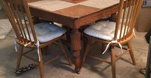 how to update an old dining room set completure co