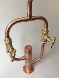 Faucet Pipes 20 Best Handmade Industrial Design Copper Faucet Tap Images On