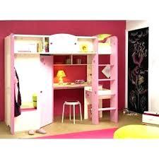 chambre fille avec lit mezzanine chambre fille lit mezzanine lit sureleve combine lit sureleve