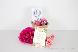 wildflower seed packets seed packet bridal shower favors the inspired hive
