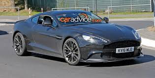 2017 aston martin rapide s aston martin vanquish s spied at the nurburgring