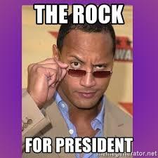 The Rock Meme Generator - the rock for president the rock cooking meme generator
