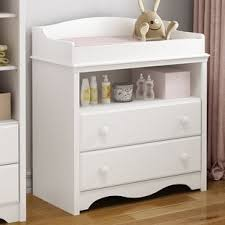 White Dresser And Changing Table Changing Tables You Ll Wayfair