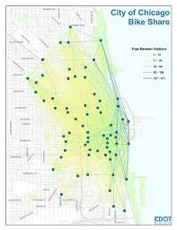 divvy chicago map where are going with chicago s bike program chicago