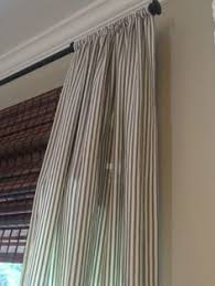 Ticking Stripe Curtains Ticking Stripe Curtains Classic Casual Home Dining Room