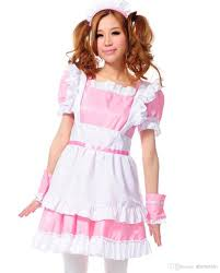 french halloween costumes treasure box women u0027s french maid costume pink maid dress 4