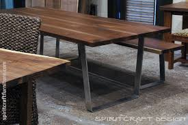 live edge outdoor table custom solid hardwood table tops live edge slabs