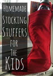 the purposeful wife 5 homemade stocking stuffers for the kids
