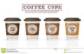 Design Cups by Cup Of Coffee Espresso Vector Logo Design Stock Vector Image