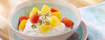 dole fruit bowls tropical fruit coconut yogurt bowl dessert recipes dole