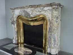 antique fireplace marble louis xv xixth c c 1031