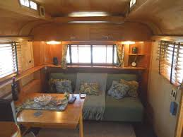 Camper Trailer Interior Ideas Vintage Trailer Interiors From The 1940 U0027s From Oldtrailer Com