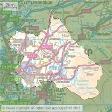map of oldham oldham east saddleworth uk by election world elections