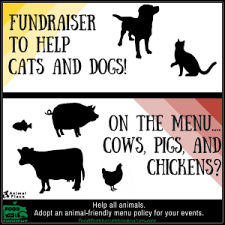 Aspca Meme - isn t it time to stop serving meat at animal fundraisers and