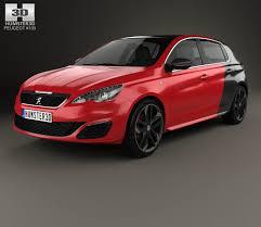 peugeot car 2015 peugeot 308 gti 2015 3d model hum3d