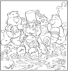 care bear coloring pages coloring pages kids