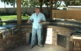 ideas for outdoor kitchens outdoor kitchen designs ideas landscaping network