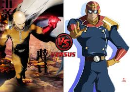 one punch man one punch man vs captain falcon battles comic vine
