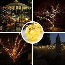 8 modes 30 leds amir solar string lights 20ft globe