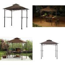 outdoor grill gazebo bbq canopy barbeque with adjustable awning