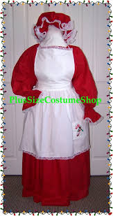 mrs santa claus costume mrs claus costume plus size and size christmas costumes