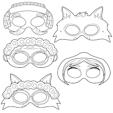little red riding hood printable coloring masks little red