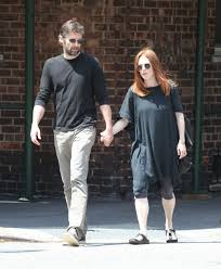 julianne moore and bart freundlich out and about in new york 07 03