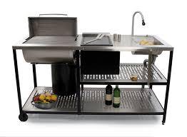 aussenküche edelstahl outstanding module außenküche