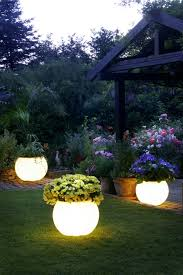 garden solar lights landscape lighting beautiful backyard