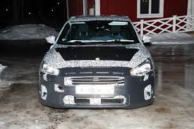 Focus Grill 2018 Ford Focus Mk4 Spied Wearing Production Body Shell
