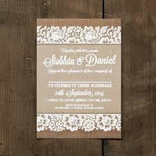 shabby chic lace wedding invitation feel good wedding invitations