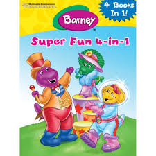 barneys giant coloring and activity barney and friends books