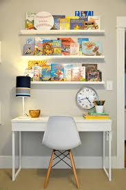 Kid Desk Ikea Kid Room Book Ledges Ikea Besta Burs Desk And White Eames Shell