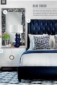 Best  Blue Headboard Ideas On Pinterest Navy Headboard Navy - Blue and black bedroom designs