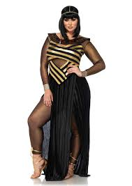 leg avenue plus size 3 piece nile queen costume