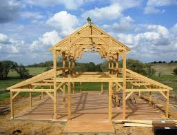 barn shop plans equipment barn in tx with hemlock frame and curved braces