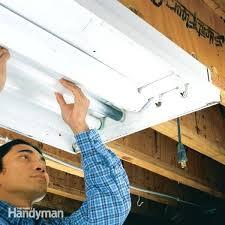 How To Install A Fluorescent Light Fixture Replacing Kitchen Fluorescent Light Fixtures Shirokov Site