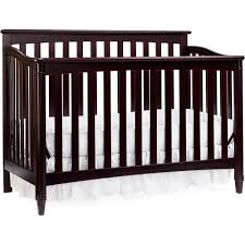 Cherry Baby Cribs by Europa Baby Geneva 4 In 1 Convertible Crib Classic Cherry