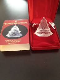 waterford 12 days of ornament set part 42