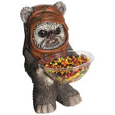 star wars ewok candy bowl u0026 holder of delicious treats from moon